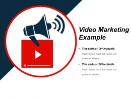 Video Marketing Example Presentation Visual Aids