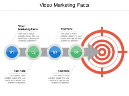 Video Marketing Facts Ppt Powerpoint Presentation Ideas Gridlines Cpb