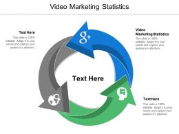 Video Marketing Statistics Ppt Powerpoint Presentation Ideas Icons Cpb
