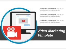 Video Marketing Template Presentation Ideas