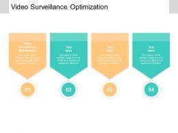 Video Surveillance Optimization Ppt Powerpoint Presentation Layouts Outline Cpb
