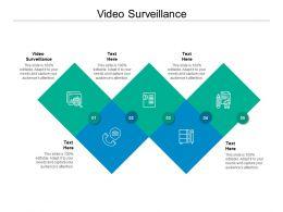 Video Surveillance Ppt Powerpoint Presentation Summary Display Cpb