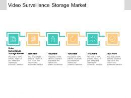 Video Surveillance Storage Market Ppt Powerpoint Presentation Layouts Diagrams Cpb