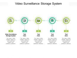 Video Surveillance Storage System Ppt Powerpoint Presentation Infographic Template Portfolio Cpb