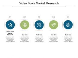 Video Tools Market Research Ppt Powerpoint Presentation Layouts Ideas Cpb