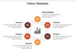 Videos Metadata Ppt Powerpoint Presentation Icon Background Designs Cpb