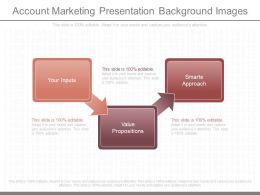 View Account Marketing Presentation Background Images
