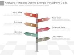 View Analyzing Financing Options Example Powerpoint Guide