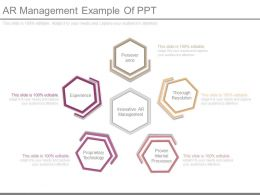 View Ar Management Example Of Ppt