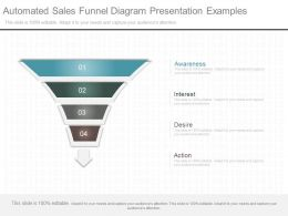 View Automated Sales Funnel Diagram Presentation Examples