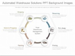 View Automated Warehouse Solutions Ppt Background Images
