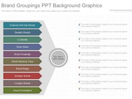 View Brand Groupings Ppt Background Graphics