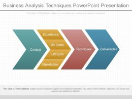 View Business Analysis Techniques Powerpoint Presentation