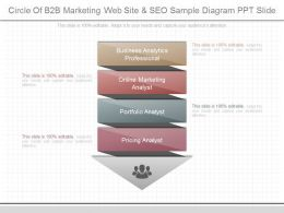 View Circle Of B2b Marketing Web Site And Seo Sample Diagram Ppt Slide