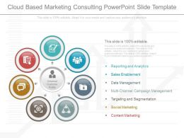 View Cloud Based Marketing Consulting Powerpoint Slide Template