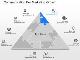 view Communication For Marketing Growth Powerpoint Template
