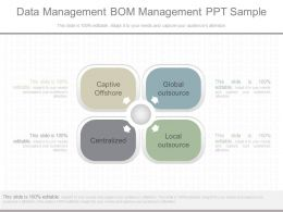 View Data Management Bom Management Ppt Sample