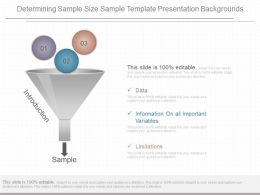 View Determining Sample Size Sample Template Presentation Backgrounds
