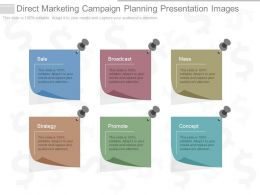 View Direct Marketing Campaign Planning Presentation Images