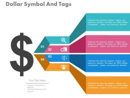 view Dollar Symbol And Tags For Strategic Planning Processes Flat Powerpoint Design