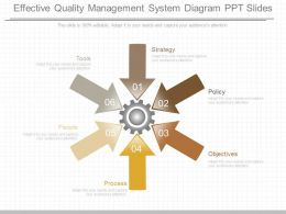 View Effective Quality Management System Diagram Ppt Slides