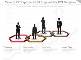 View Example Of Corporate Social Responsibility Ppt Templates