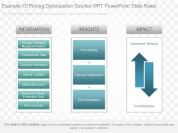 View Example Of Pricing Optimization Solution Ppt Powerpoint Slide Rules