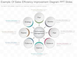 View Example Of Sales Efficiency Improvement Diagram Ppt Slides