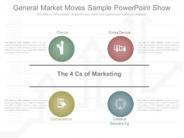 View General Market Moves Sample Powerpoint Show
