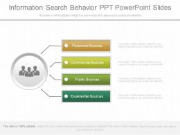 View Information Search Behavior Ppt Powerpoint Slides