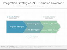 View Integration Strategies Ppt Samples Download