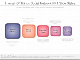 View Internet Of Things Social Network Ppt Slide Styles
