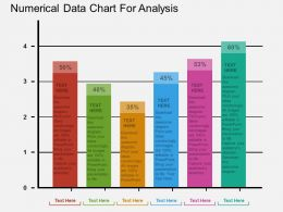 view Numerical Data Chart For Analysis Flat Powerpoint Design