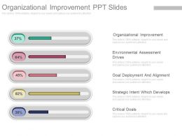 View Organizational Improvement Ppt Slides