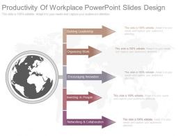View Productivity Of Workplace Powerpoint Slides Design