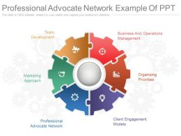 view_professional_advocate_network_example_of_ppt_Slide01