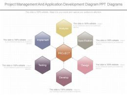 View Project Management And Application Development Diagram Ppt Diagrams