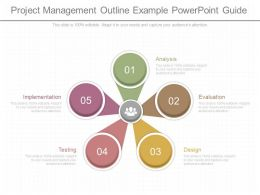 View Project Management Outline Example Powerpoint Guide