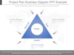 View Project Plan Business Diagram Ppt Example