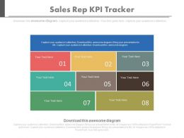 view Sales Rep Kpi Tracker Key Performance Indicator Evaluate Success Powerpoint Slides