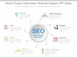 View Search Engine Optimization Methods Diagram Ppt Slides