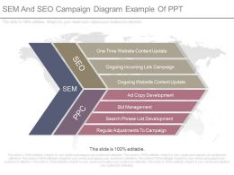 View Sem And Seo Campaign Diagram Example Of Ppt