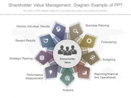 View Shareholder Value Management Diagram Example Of Ppt