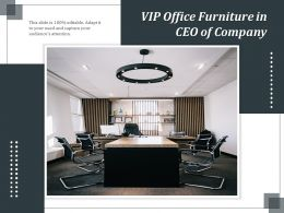 VIP Office Furniture In CEO Of Company