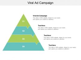 Viral Ad Campaign Ppt Powerpoint Presentation Gallery Portrait Cpb