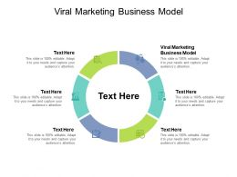 Viral Marketing Business Model Ppt Powerpoint Presentation Model Tips Cpb
