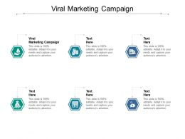 Viral Marketing Campaign Ppt Powerpoint Presentation Graphics Cpb