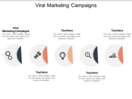 Viral Marketing Campaigns Ppt Powerpoint Presentation Outline Examples Cpb