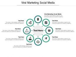 Viral Marketing Social Media Ppt Powerpoint Presentation Inspiration Display Cpb