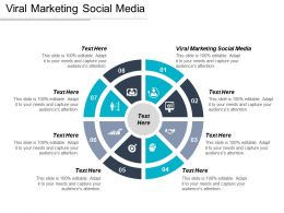 Viral Marketing Social Media Ppt Powerpoint Presentation Styles Diagrams Cpb